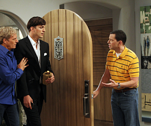 Two and a Half Men Season 10 Premiere Pics: Welcome, Michael Bolton!
