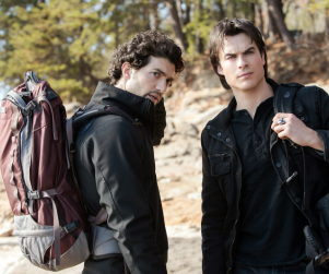The Vampire Diaries Spoiler Pics: Cure Searching & Hunter Battling