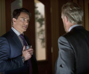 John Barrowman Teases Return of The Dark Archer, Mysterious Role on Scandal