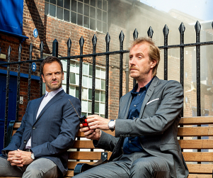 Elementary Season Premiere Pic: Rhys Ifans as Mycroft