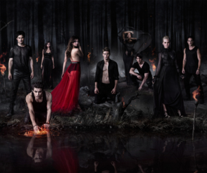 The Vampire Diaries Season 5 Poster: Rippling and Roaring