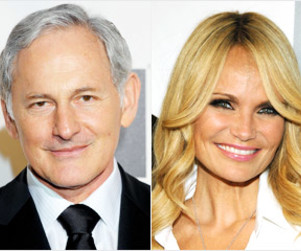 Kristin Chenoweth and Victor Garber Cast on Glee