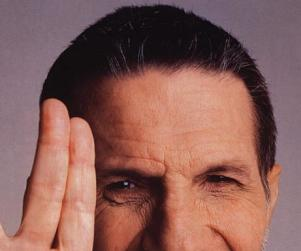 Leonard Nimoy to Sort of Appear on The Big Bang Theory