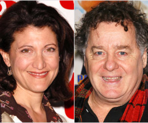 Amy Aquino and Peter Gerety: Cast on Brothers & Sisters