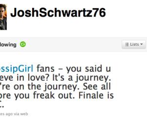 """Josh Schwartz Teases """"Epic"""" Gossip Girl Finale"""