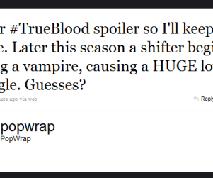 True Blood Tweet Reveals Possible Spoiler, HUGE Love Triangle