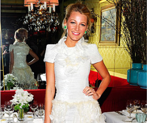 Blake Lively Honored at Chanel Dinner