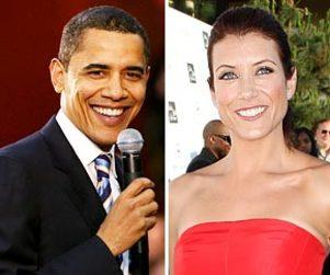 Kate Walsh Cheers Barack Obama Victory