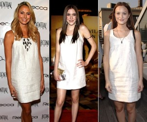Leighton Meester Involved in Celebrity Fashion Face-Off