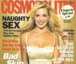 Katherine Heigl: Cosmopolitan Cover Girl