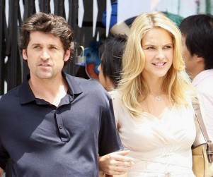 "Patrick Dempsey On the Set of His New Movie, ""Made of Honor"""