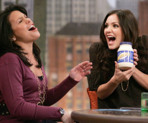 American Idol Picture of the Day: Katherine McPhee ... and Mayonnaise!