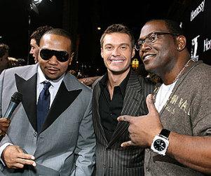 American Idol Pictures of the Day: Jennifer Hudson, Ryan Seacrest, Randy Jackson Live it Up