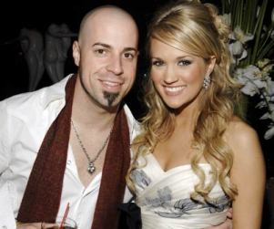 American Idol Picture of the Day: Carrie Underwood and Chris Daughtry