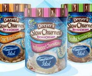 American Idol Ice Cream Hits the Shelves
