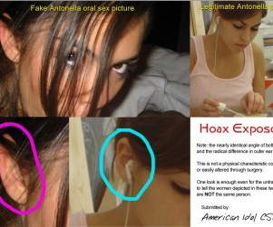 Antonella Barba Photos: Just a Hoax?