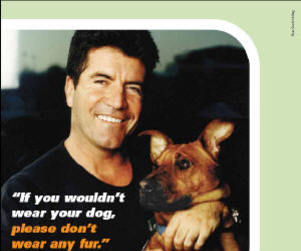 Simon Cowell: New PETA Spokesperson