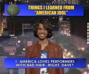 Sanjaya Malakar: Top 10 Things I Learned on American Idol