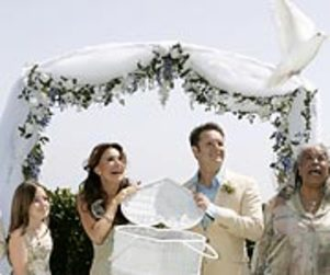 Mark Burnett, Roma Downey Get Married in Malibu