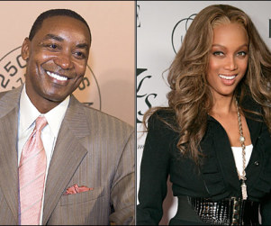 Banks Shot: Tyra Cozying Up With Knicks Coach Isiah Thomas?