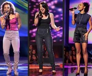 An American Idol Fashion Face-Off