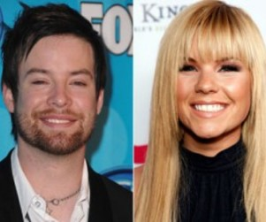 David Cook Comments on Kimberly Caldwell