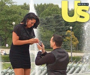 Sara Ramirez Engagement Photo: A Tearful Moment