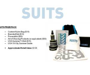 Suits Giveaway: Win Free Stuff!