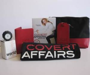 Covert Affairs Giveaway: DVD, T-Shirt and More!
