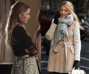 Gossip Girl Fashion Recap: Blacked Out & Laced Up