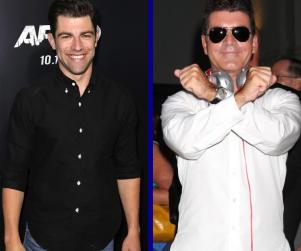 Tournament of TV Fanatic: Max Greenfield vs. Simon Cowell!