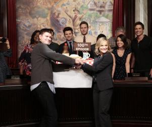 Parks and Recreation Cast Celebrates 100 Episodes: Photos