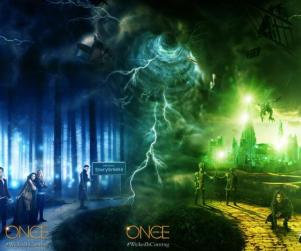 Once Upon a Time Key Art: Wicked is Coming
