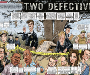 Mad Magazine Takes On True Detective In New Kimye-Kovered Issue