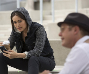 The Blacklist Scoop: Megan Boone Dishes On Distrustful Lizzie... and A Ressler Romance?