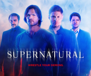Supernatural Season 10 Poster: Wrestle Your Demons