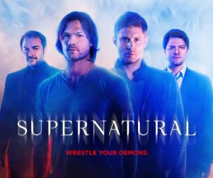 Supernatural Season 10 Poster: Wrestle Your Demons