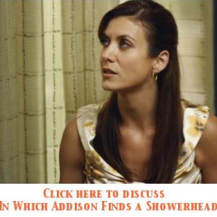 "Discuss Episode Five, ""In Which Addison Finds a Showerhead,"" in Our Private Practice Forum!"
