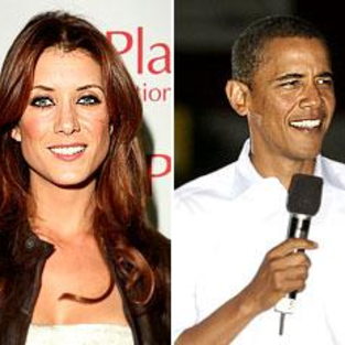Barack Obama, Kate Walsh Talk Private Practice