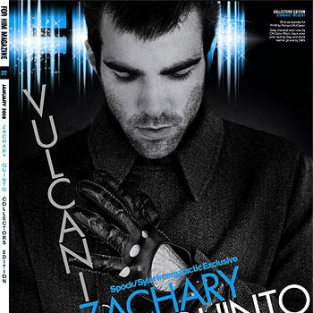 Zachary Quinto Featured in Limited Edition FHM