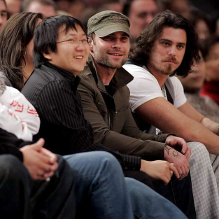 Masi Oka Cheers on the Knicks