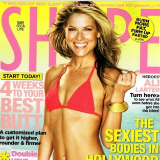 Ali Larter is in Shape