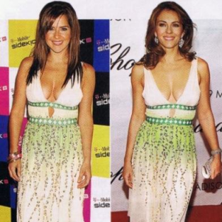 Fashion Face-Off: Kelly Monaco vs. Elizabeth Hurley