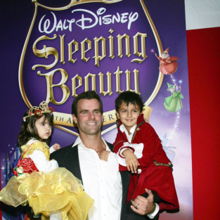 Adorable Alert: Cameron Mathison and Kids!
