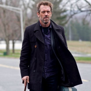 "House is ""Pretty Damaged,"" Hugh Laurie Says"