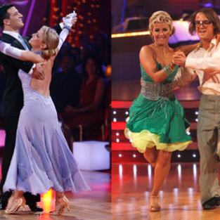 Melissa Joan Hart and Louie Vito: Eliminated from Dancing with the Stars