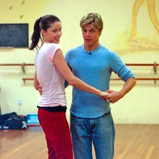 Shannon Elizbaeth and Derek Hough Train for Dancing with the Stars