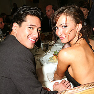 Caught! Karina Smirnoff Spotted with Mario Lopez