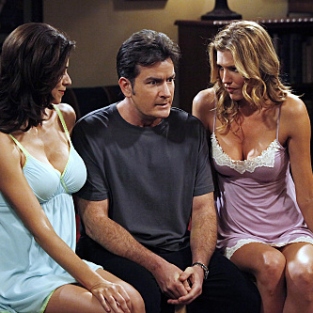 "Two and a Half Men Review: ""Gorp. Fnark. Schmegle."""