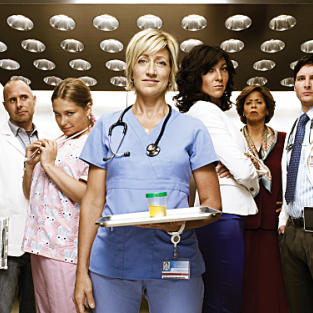 Nurse Jackie Cast Poses for Season Two Promo Pic